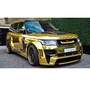 Gold Range Rover Hamann Mystere The Real Luxury