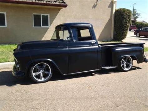 1957 chevy stepside pick up sell used 1957 chevy 3100 shortbed sb stepside pickup