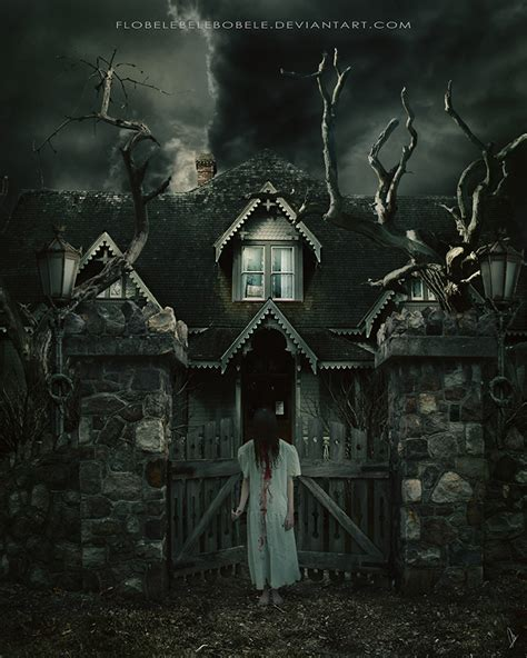 haunted house ii by flobelebelebobele on deviantart