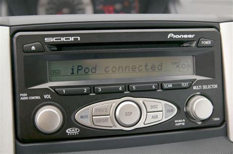 2006 scion xa pioneer radio picture pic image