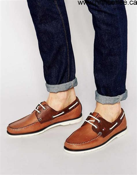 mens tan boat shoes shoes no taxes men s tommy hilfiger nubuck leather