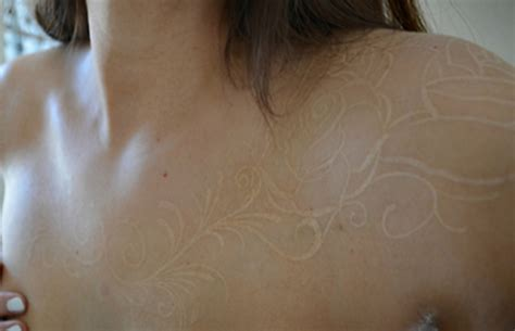 white tattoos on white skin 15 white ink tattoos you need to see before considering