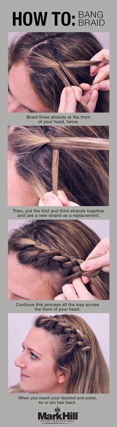 10 easy hairstyles for bangs to get them out of your face best 25 growing out bangs ideas on pinterest how to braid step by step diy hair highlights