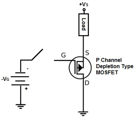 tipe transistor mosfet p channel mosfet basics