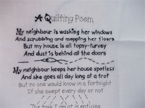 Poems About Quilting by A Quilting Poem Author Unknown Sew Rosey