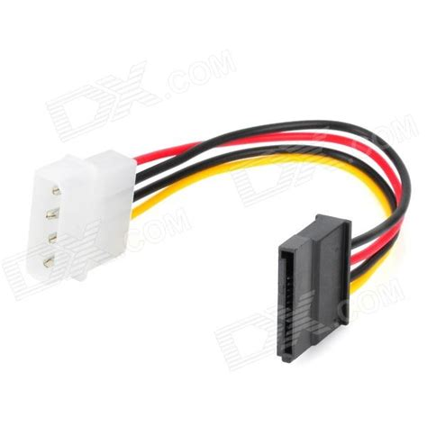Electrical Accessories by Ide To Sata Hdd Power Adapter Cable Black Multi