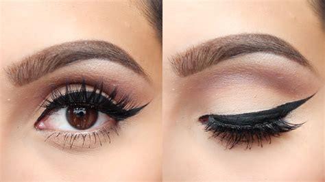 youtube tutorial smudge eyeliner winged eyeliner tutorial 2015 youtube