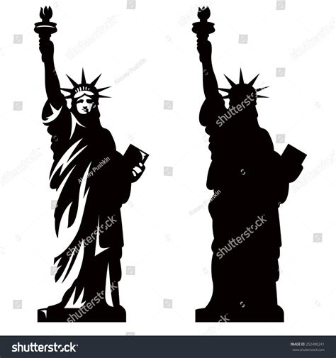 how do you that liberty statue is symbol statue of liberty silhouette clip imgkid com