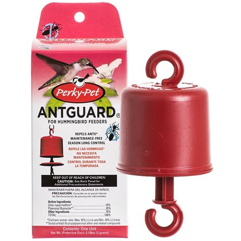 perky pet ant guard for hummingbird feeders bird feeder