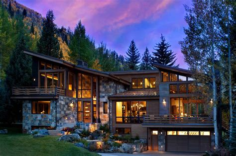modern rustic home captivating modern rustic home in the colorado mountains