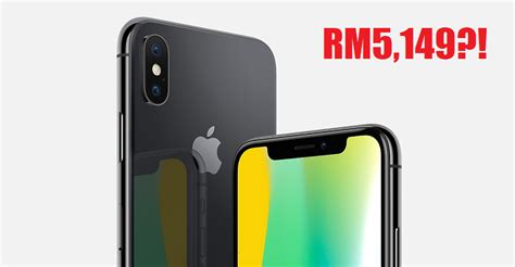 iphone 2 price apple just revealed iphone x prices for malaysia and it starts at rm5 149 world of buzz