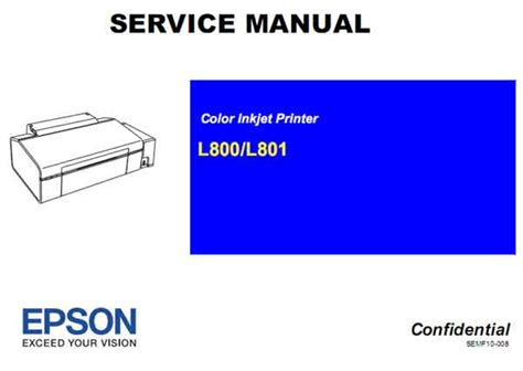 reset l800 manual epson l800 l801 printers service manual service manuals