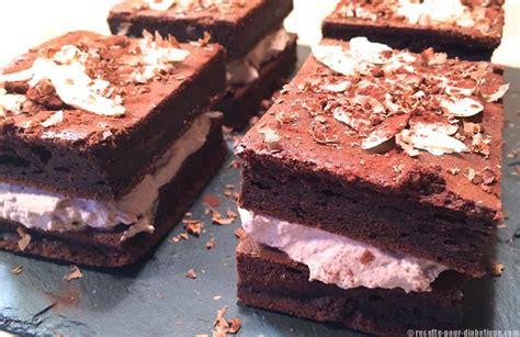 recette de cuisine pour diab騁ique gateau chocolat mascarpone et cr 234 me fouett 233 e
