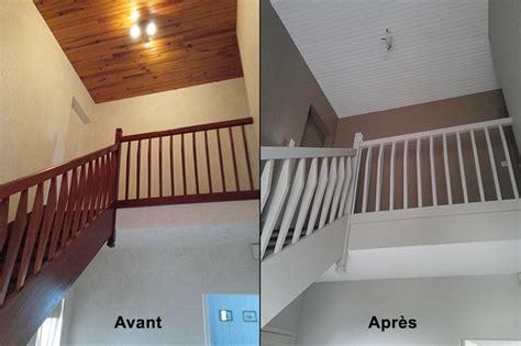 Ordinaire Photo De Peinture De Chambre #8: Escalier-repeint-avant-apres.jpg