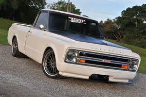 Chevrolet Truck Aftermarket Wheels This Gorgeous 68 Chevy C10 Truck By Tom Argue Design Is
