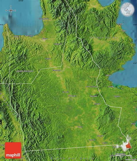phil map via satellite satellite map of agusan sur