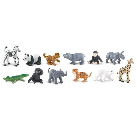 Figure Anjing Safari Ltd Toob zoo babies toob mini figures safari ltd new toys