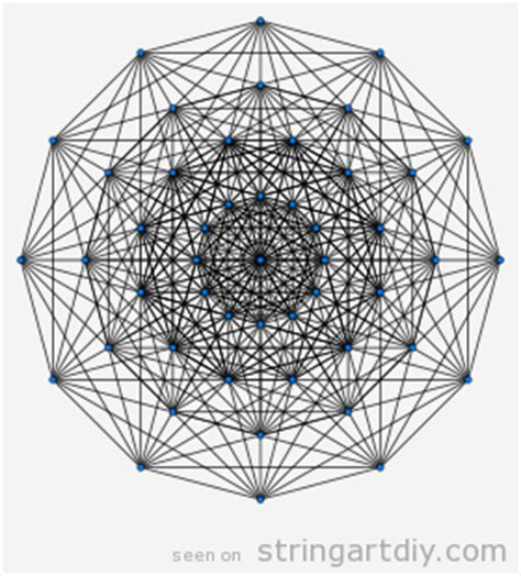 Math String Patterns Free - demihepteract string pattern string diy free