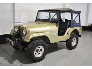 Jeep Cj5 1970 Jeep Cj 1970 Jeep Cj5 255 C I V6 3 Speed Manual W