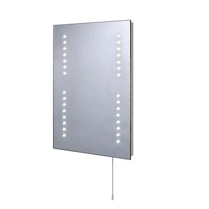 battery operated bathroom mirrors moods twilight rectangular battery operated bathroom