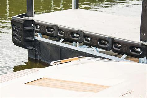 boat rub rail alternatives boat dock protection boat lift