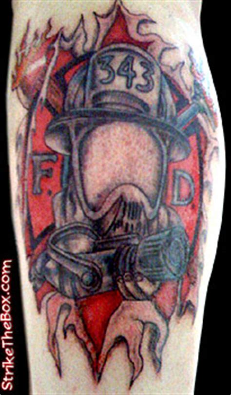 freehold tattoo firefighter tattoos