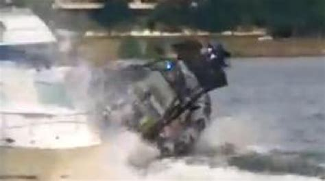 washington dc police boat dc police boat crashes into 2 others in georgetown video