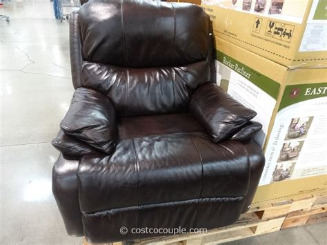 costco recliner chair woodworth easton leather recliner from costco