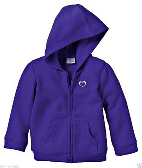 Jaket Jumping Beans Pink jumping beans toddler s purple fleece zip up hoodie