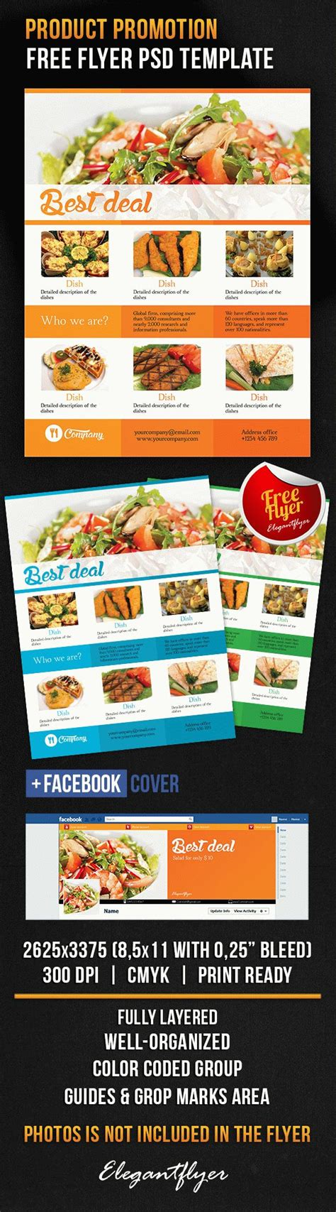 Product Flyer Template Psd