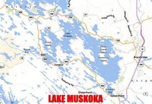 muskoka canada map location maps and directions fleafest 2013
