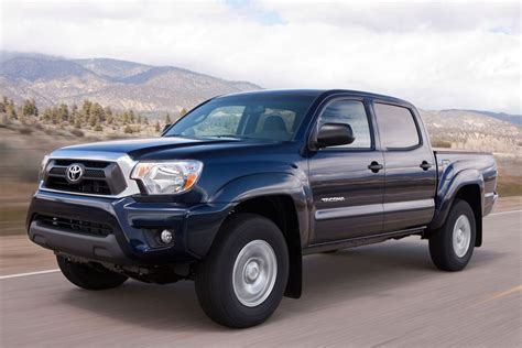 Length Of Toyota Tacoma 2012 Toyota Tacoma Review Specs Pictures Price Mpg