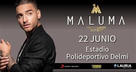 maluma salta show internacional de maluma en salta adelantado