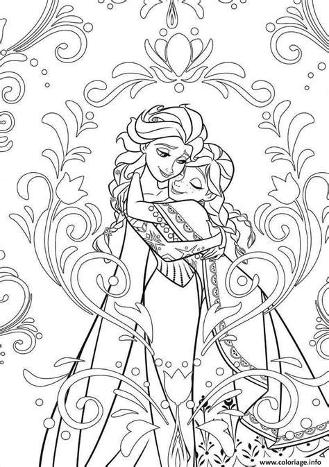 Coloriage Mandala Disney Frozen Elsa Anna Princess Livre Coloriage Princesses DisneyL
