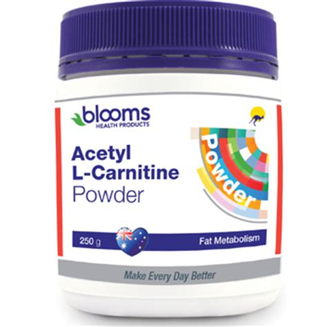 Acetyl L Carnitine Detox by Buy Blooms Acetyl L Carnitine Powder For Increased