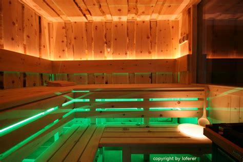 sauna beleuchtung sauna aus zirbenholz individuelle fertigung
