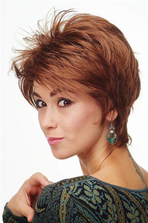 copper and brown sort hair styles ladies wig wig short hair teased copper brown copper 81448 30 ebay