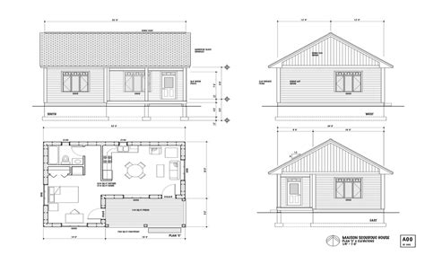 1 Bedroom Cottage Floor Plans One Bedroom Home Plans Small One Bedroom Cottage Plans Small House Construction Plans