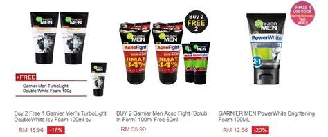 Krim Muka Garnier 3 jenama produk pencuci muka lelaki yang popular di malaysia