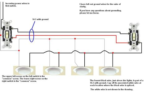 i would like to wire two 3 way switches with