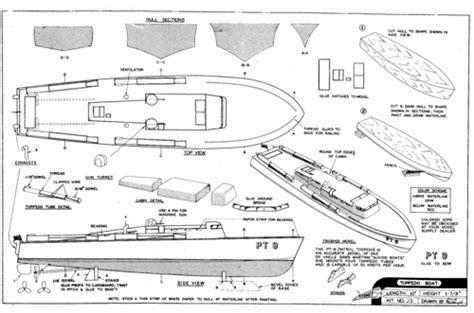 pt boat design plan pt boat plans roters