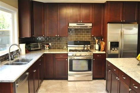 installing subway tile backsplash in kitchen kitchen floor and subway tile backsplash glass tile