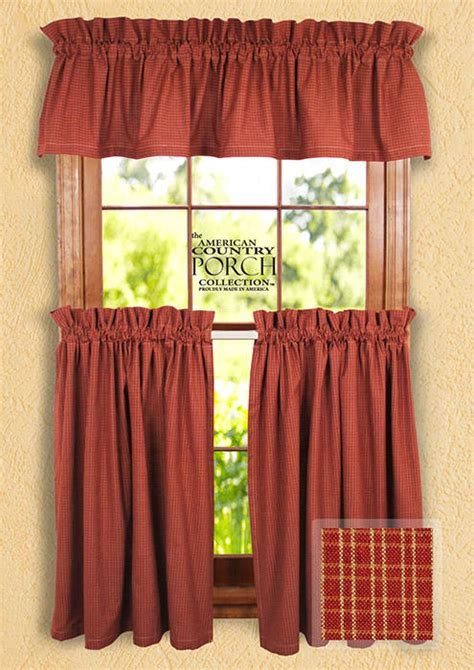 wine curtains valances wine teadyed reverse double pane curtain valances