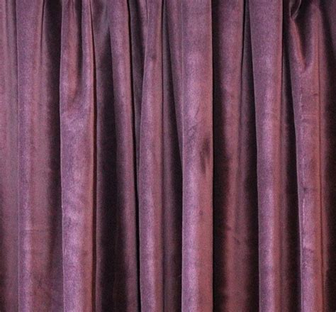 purple velvet drapes purple velvet curtain 96 quot h acoustic noise sound reducing