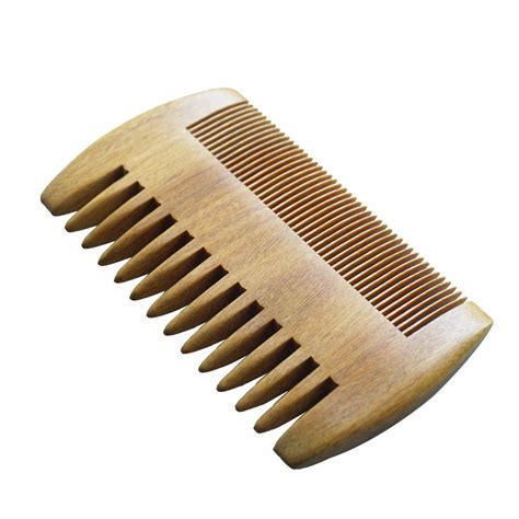 Handmade Beard Comb - wood comb wooden pocket beard comb handmade coarse wide