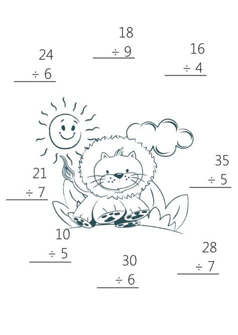 printable math worksheets cool math cool math simple division worksheets for 1st grade 1st grade