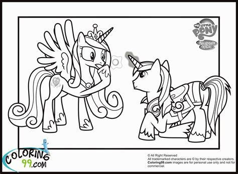 my pony coloring pages princess cadence and shining armor my pony coloring pages princess cadence wedding