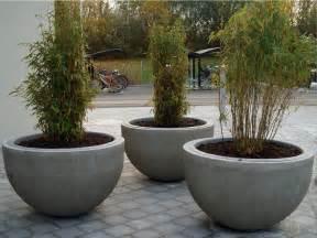 Concrete Flower Pots Reinforced Concrete Flower Pot Sturup By Nola Industrier