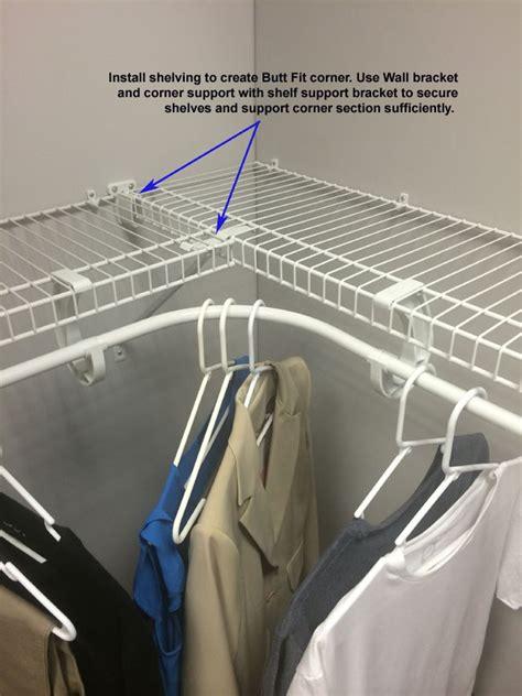 Closetmaid Hanging Wire Shelf 17 Best Ideas About Wardrobe Storage On