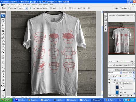 design baju psd technology informatic s cara membuat design t shirt mudah